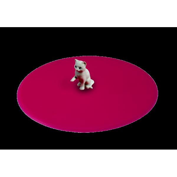 My Lid, couvercle protège verre en silicone décor animaux de compagnie - Chat - LURCH 210828