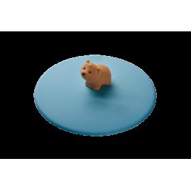 My Lid, couvercle protège verre en silicone décor cerise - Lurch 210817