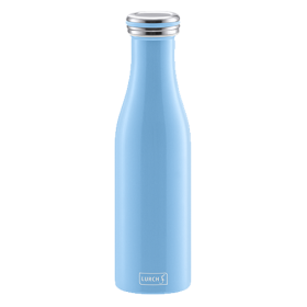 Bouteille isotherme 0,5 l gris perle LURCH