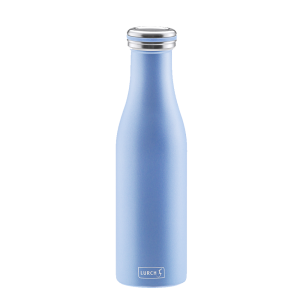 Bouteille isotherme 0,5 l bleu perle LURCH