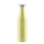 Bouteille isotherme 0,5 l jaune perleLURCH