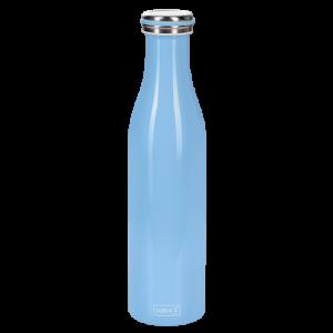 Bouteille isotherme 0,75 l bleu clair LURCH