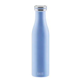 Bouteille isotherme 0,75 l bleu perle LURCH