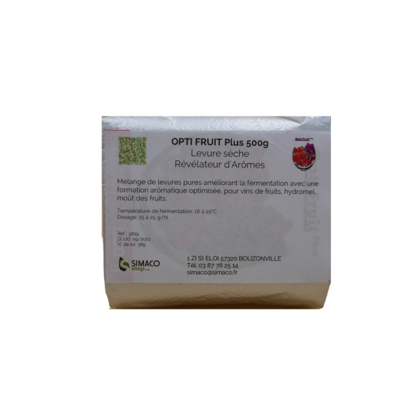 OPTI FRUIT Plus 500 g - Levure sèche révélateur d'arômes Schliessmann