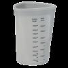 Verre doseur en silicone 1l gris clair - LURCH
