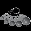 Cuillères doseuse en silicone - 070262 - LURCH