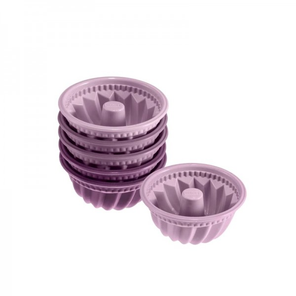 Moule Mini Kougelhopf (lot de 6)