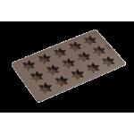 Moule à Biscuits 15 Etoiles en Silicone Platinium - Lurch 65023