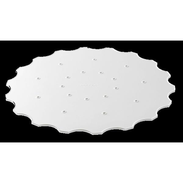 Disques en silicone pour grille à sècher - Lot de 2 pièces