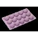 Moule 15 Fleurs de Dahlia en Silicone Platinium - Lurch 85066