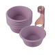 Cupcake set 6 moules en silicone platinium - Lurch 85073