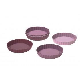 Moules à Tartelettes en Silicone Platinium x6- Lurch 85016
